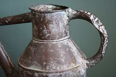 Vintage Antique Victorian French Copper Watering Can - Superb Patina/Shape