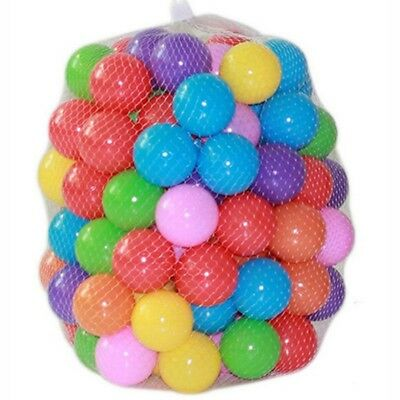 200pcs Eco-Friendly Colorful Soft Plastic Water Pool Ocean Wave Ball Baby