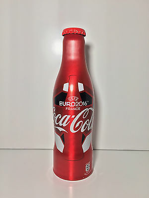 Coca Cola Aluminium Bottle Euro 2016 France from Cyprus / Greece