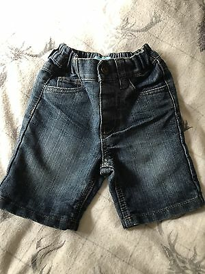 Rebel Baby Boys Denim Shorts Age 18-24 Month Fit