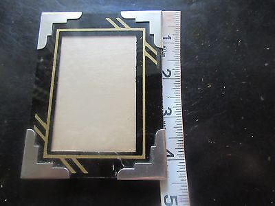 Old Antique Vintage Art Deco Reverse Painted Glass Picture Frame