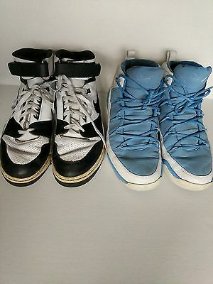 Size 12 Jordans & Nike Mens High Top Sneakers Basketball Shoes