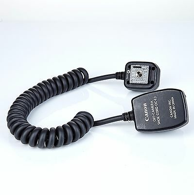 Canon OC-E3 E-TTL Off Camera Shoe Cord for Canon DSLR hot shoe Flash 2' original