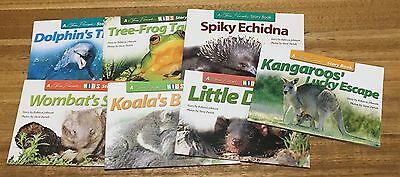 Steve Parish Kids Story Books x 7 Great Condition Softcover Bulk Lot B022