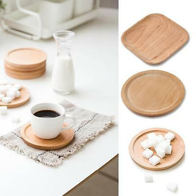 Great Natural Wooden Beech Serving Plates Green Healthy Chinese Kitchenware SP