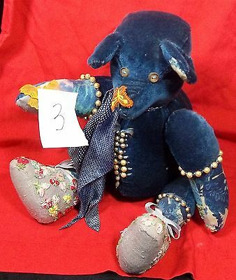 Original Hansen Hand Made Teddy Bear Lot 3