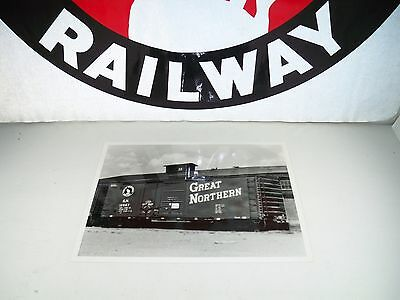 VINTAGE Great Northern Boxcar No. 12667 8 x 10 Black & White Photograph