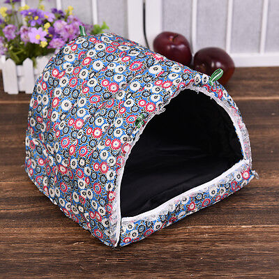Cozy soft Warm Hammock Hanging Rat Parrot Guinea Pig House Cage Tent Bed