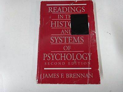 192 Readings in the History and Systems of Psychology by James F. Brennan (1997)