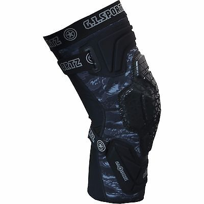 GI Sportz Race 2.0 Knee Pads Black - XX-Large - Paintball