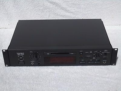 Tascam MD-350 Professional LP2 LP4 Mode  Pitch Control MiniDisc Recorder Player