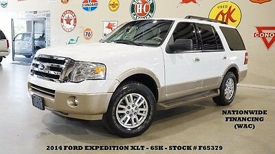 2014 Ford Expedition 14 EXPEDITION XLT RWD,BACK-UP CAM,LEATHER,SYNC,3RD 14 EXPEDITION XLT RWD,BACK-UP CAM,LEATHER,SYNC,3RD ROW,18IN WHLS,65K,WE FINANCE!