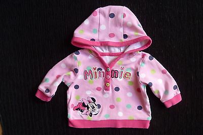 Baby clothes GIRL newborn 0-1m Disney Minnie Mouse lightweight jacket-style top