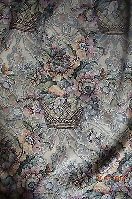 French Pair Rare Tapestry Curtains Stunning