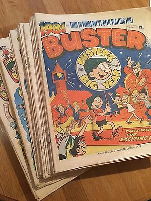 Buster Comics 45 Copies 1981