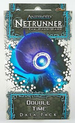 Android Netrunner LCG: Double Time Data Pack (Spin Cycle) - NEW