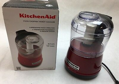 KitchenAid KFC3511ER 3.5 Cup Food Chopper - Empire Red