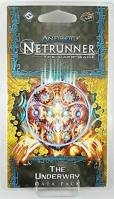 Android Netrunner LCG: The Underway​ Data Pack (SanSan Cycle) - NEW