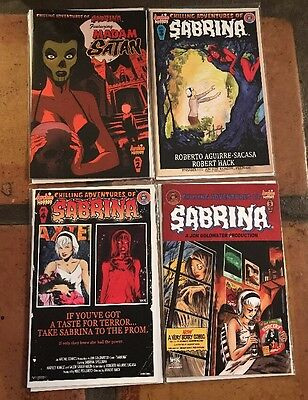 Chilling Adventures of Sabrina 2 3 4 5 Archie Comics Lot Variant