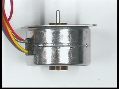 1 x Philips 12 Volts DC 100 mA 7.5 Degree 4 Lead Permanent Magnet Stepper Motor