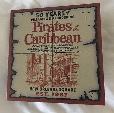 D23 Pirates of the Caribbean 50 Years Anniversary Coin Exclusive Sign By Artist