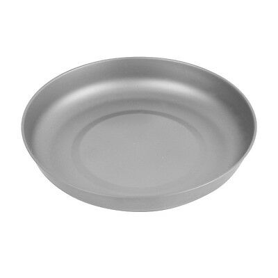 TOAKS T-18 Ultralight 0.4mm Thickness Titanium Plate Outdoor  Camping Tableware