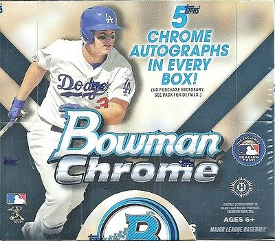 2015 Bowman Chrome Factory Sealed Baseball Jumbo Box  Kris Bryant AUTO RC ??