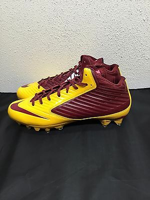 Nike Vapor Speed 3/4 Td Football Mens Nfl Redskins Colors Molded Cleats Many Sz