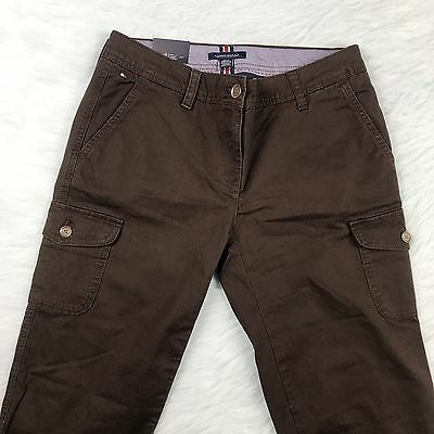 Women's Tommy Hilfiger Size 4 Brown Casual Chino Summer Pants NWT