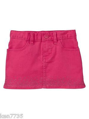 Nwt Baby Gap Girls Jewel Box Mini Skirt Size 4 4T
