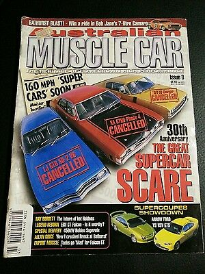Australian muscle car magazine No 3 The great Supercar Scare