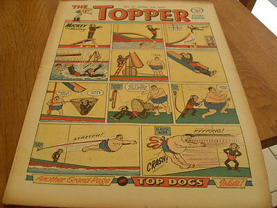 Topper Comic No 61 April 3Rd  1954