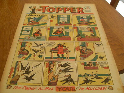 Topper Comic No 58 Mar 13Th  1954