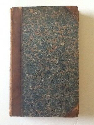 1819 The Tragedies Of Sophocles Translated By R. Potter 1/4 leather