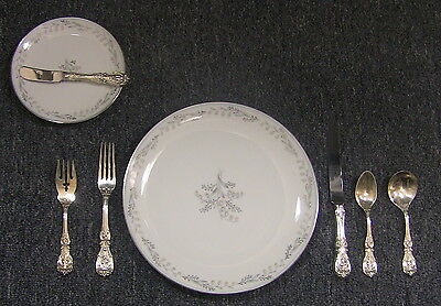 72 pc Reed & Barton Francis 1st Sterling Silver Flatware Set **Service for 12**