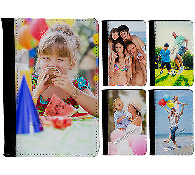 Personalised Photo Holiday Passport Holder Cover With Custom Picture