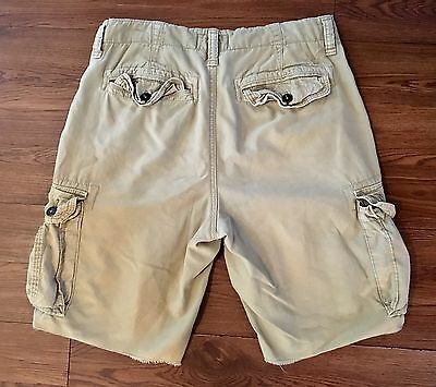 MeN'S AMERICAN EAGLE OUTFITTERS CLASSIC LENGTH CARGO SHORTS - SIZE 30