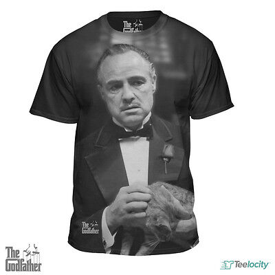 The Godfather Vito Corleone Marlon Brando Official Licensed Gangster Tee T-Shirt