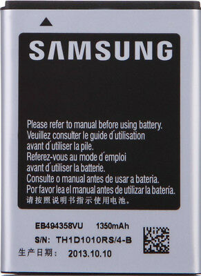 Genuine Replacement Battery  EB494358VU for Samsung Galaxy Ace S5830 1350mAh