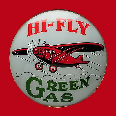 Red Hat Gasoline High Quality Square Metal Magnet 4 x 4 inches 9419