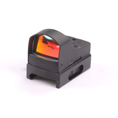 Micro Red Dot Scope Sight For Weaver Picatinny Mount 20mm w/Sunshade Hunting