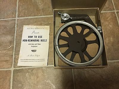 Vintage 16mm Movie Projector Reel The Motion Picture Equipment Co., New York
