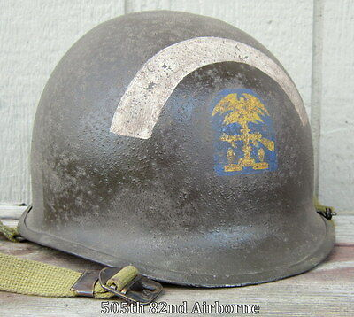 WWII M-1 Helmet ESB Engineer Special Brigade. Normandy D-Day