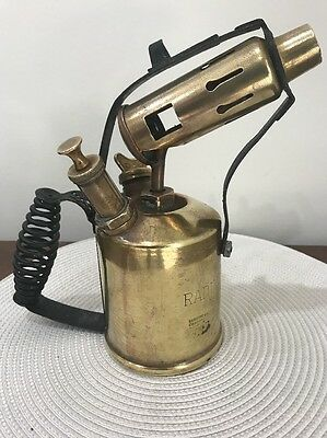 Vintage collectable Radius Kerosene blow torch No 52 - Made in Sweden