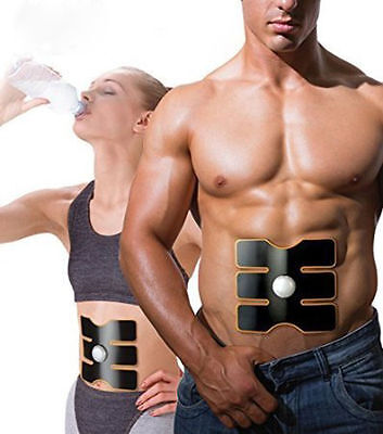 Wireless Electric Firm Abs Abdominal Muscles Toner Fitness Body Massager Trainer