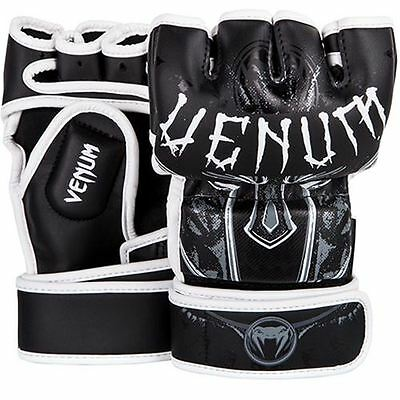 Venum Gladiator MMA Gloves - Black/White