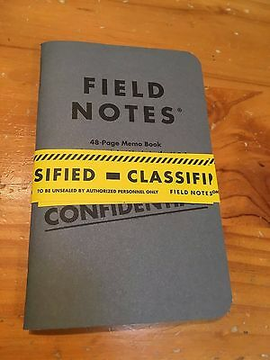 Loot Crate Exclusive Field Notes 2 x Notebook Pack  - Brand New Sealed