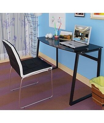 Computer student study desk, Home office or side table - Black