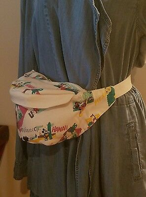 1980's vintage Disney Mickey Fanny pack.fannypack. waist pack .euc