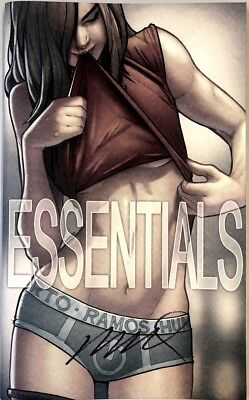 New Sdcc 2017 Tour Humberto Ramos Essentials Colored Sketchbook Signed Softcover
